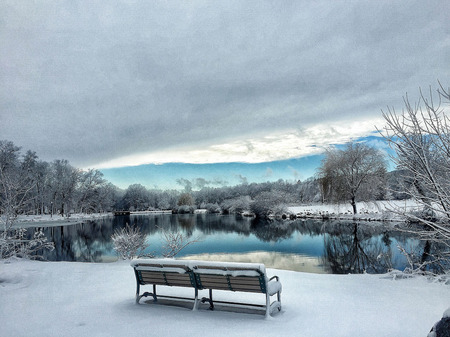 The Bench ByThe Lake